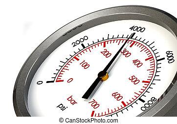 Medidor de presión 4000 PSI