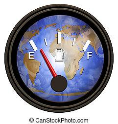 Medidor mundial de gasolina