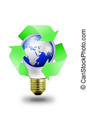 Medio ambiente Lightbulb