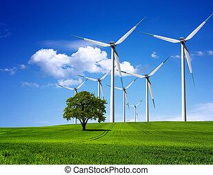 Medio ambiente verde