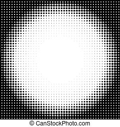 Medio círculo de fondo