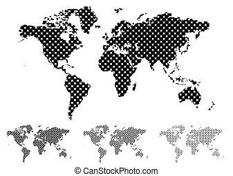 Medio mapa del mundo