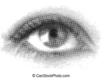 Medio ojo