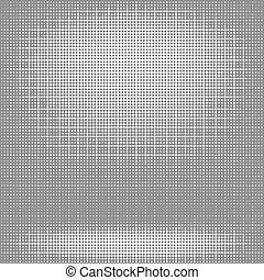 Medio patrón. Puntos sobre fondo blanco.