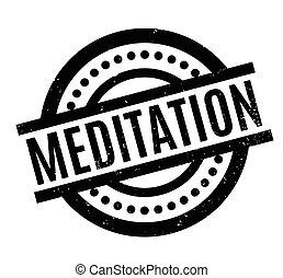 Meditación del sello de goma