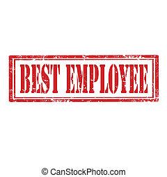Mejor sello de empleado
