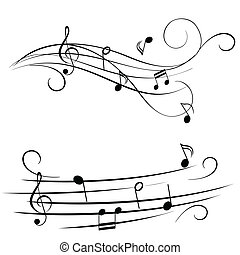 melodía, travesaño