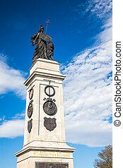 Memorial en Plymouth Hoe, Devon
