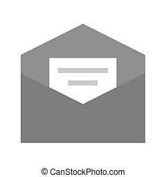 mensaje, correo
