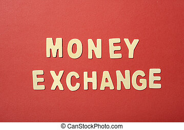 Mensaje de intercambio de dinero