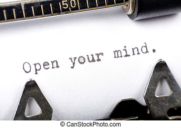 mente abierta, su