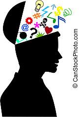 mente, humano