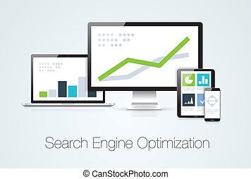 Mercado de optimización del motor de búsqueda