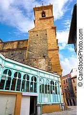 Mercado Fontan en oviedo asturias spain