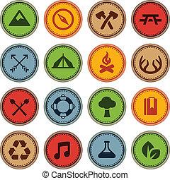 Merit insignias