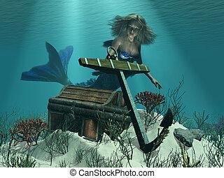 mermaid's, descubrimiento