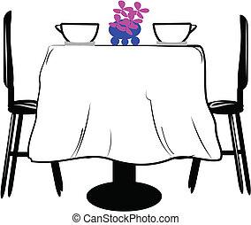 Mesa para dos