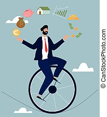 metáfora, consultor financiero, resumen, consejero