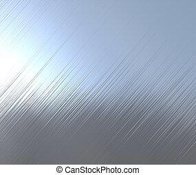 metal dado brillo