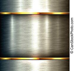metal dado brillo, plano de fondo
