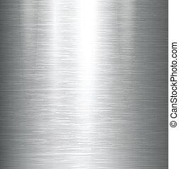 metal dado brillo, texture.