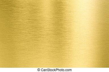 metal, oro, textura