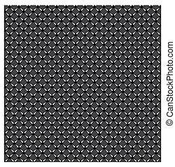 Metal textura plateada y color negro