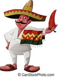 mexicano, jalapeno