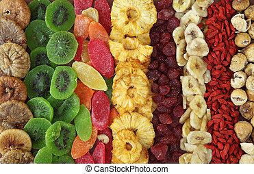 Mezcla de frutas secas