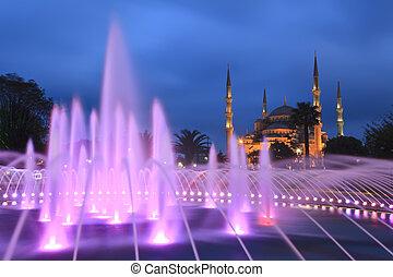 mezquita azul - istanbul, pavo