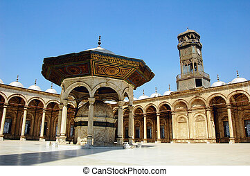 Mezquita en Damasco