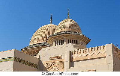 Mezquita en sharjah, UAE