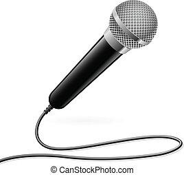Micrófono para karaoke