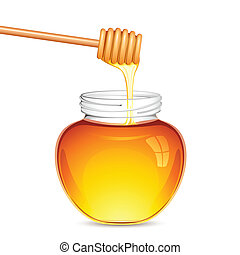 miel, fresco