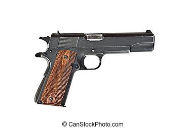 milímetros, 45, pistola