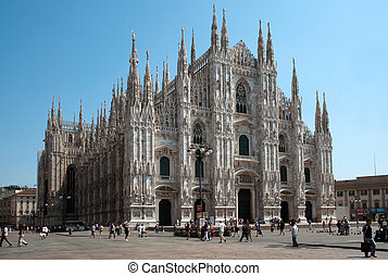 Milan catedral (Dome, duomo)