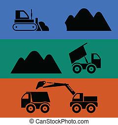 Minería y transporte de arena