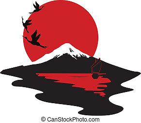 Miniatura simbolizando Japón