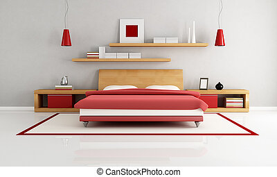 minimalista, dormitorio