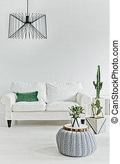 minimalistic, habitación, vida