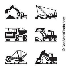 minning, equipo construcción