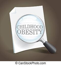 Mirando de cerca la obesidad infantil