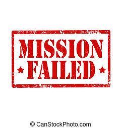 misión, failed-stamp