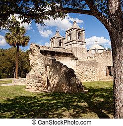Misión San Antonio Concepción en Texas