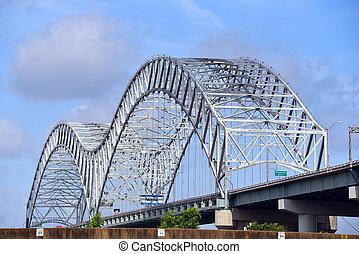 misisipí, memphis, arco puente
