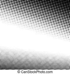 Mitad puntos textura
