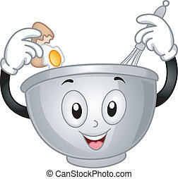 mixing bowl, mascota