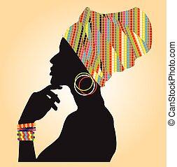 Moda africana.