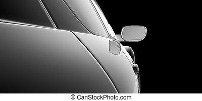 Modelo de auto abstracto