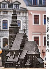 Modelo de la iglesia parroquial